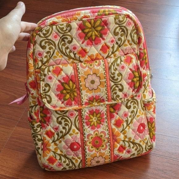 Vera Bradley Folkloric Mini Backpack
